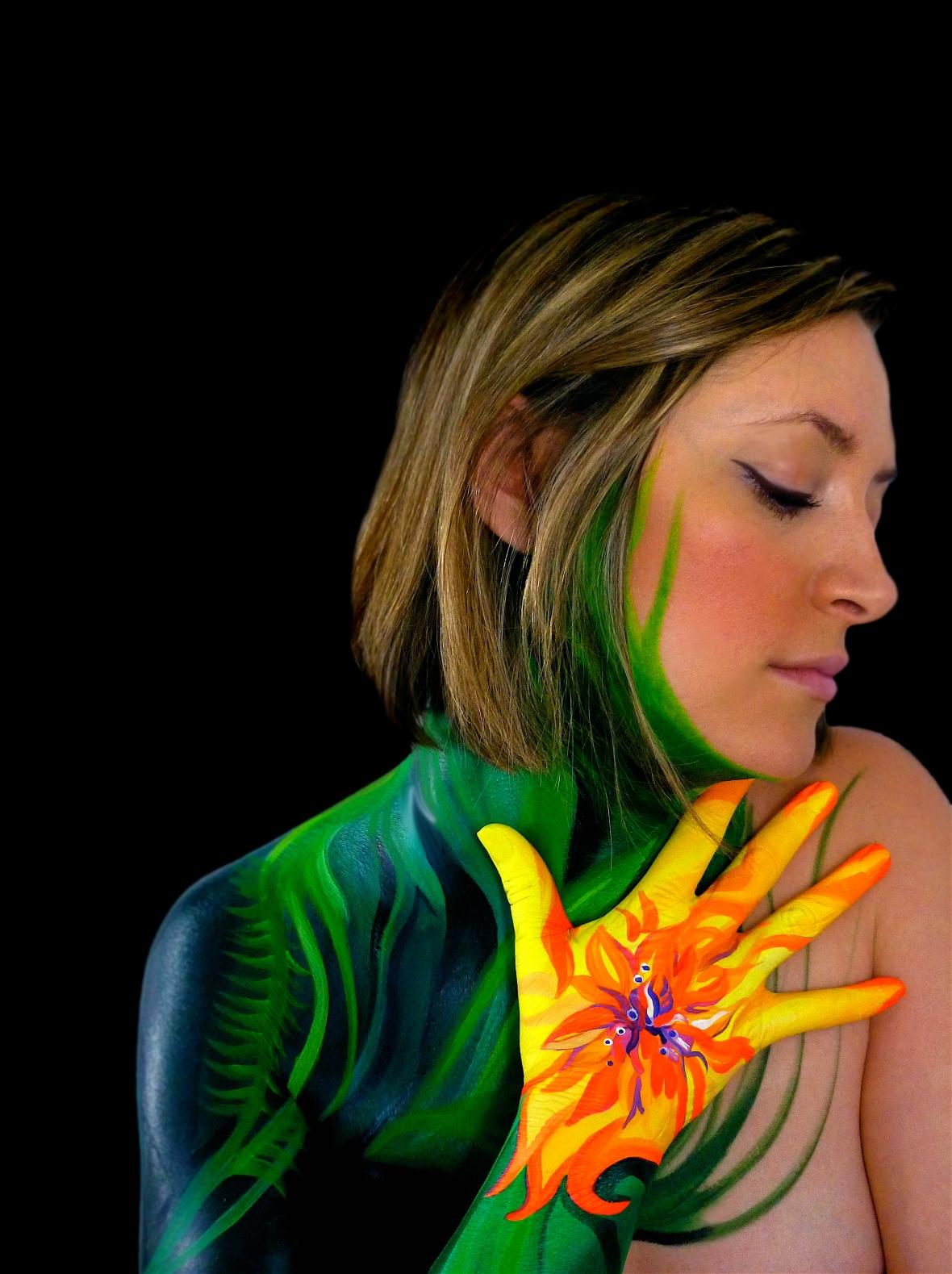 Cynthia, my tropical flower.