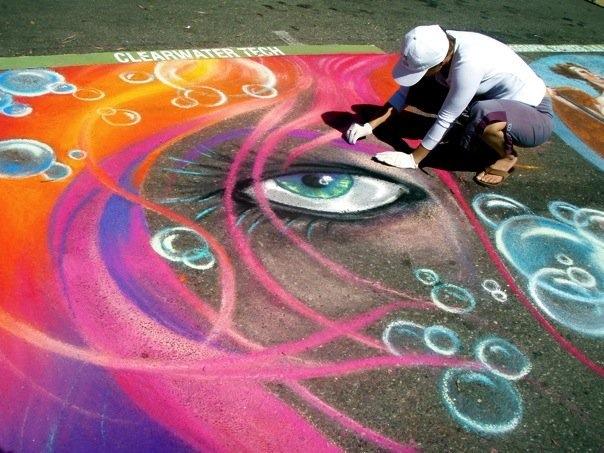 i madonnari street painting festival San Luis Obispo